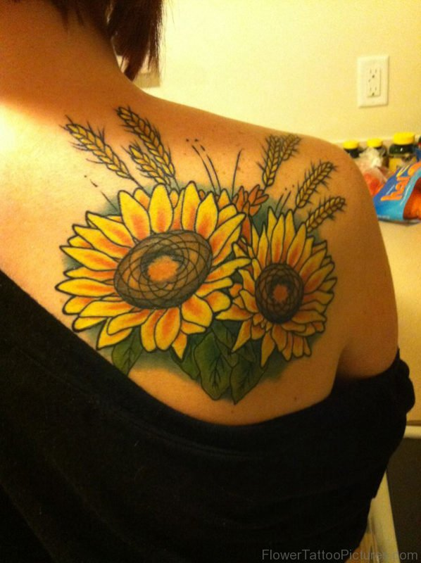 65 Amazing Sunflower Tattoos