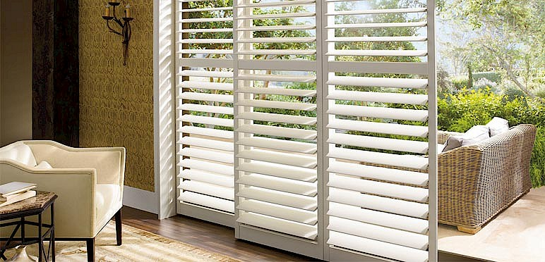 Custom Plantation Shutters For The Sitting Room