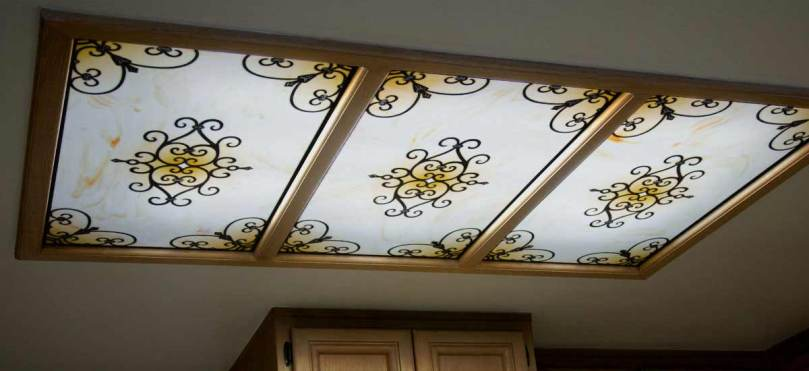 Fluorescent Light Covers   Decorative Ceiling Panels  200  Designs