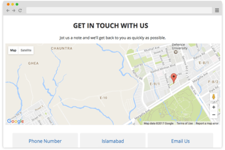 contact page with google map » Path Decorations Pictures | Full Path ...