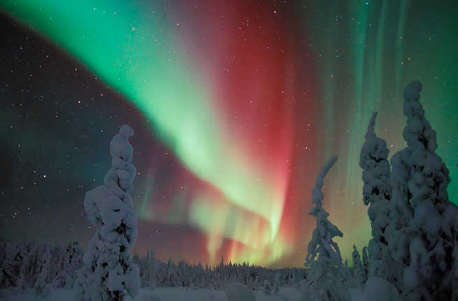 Northern Lights Europe Places See