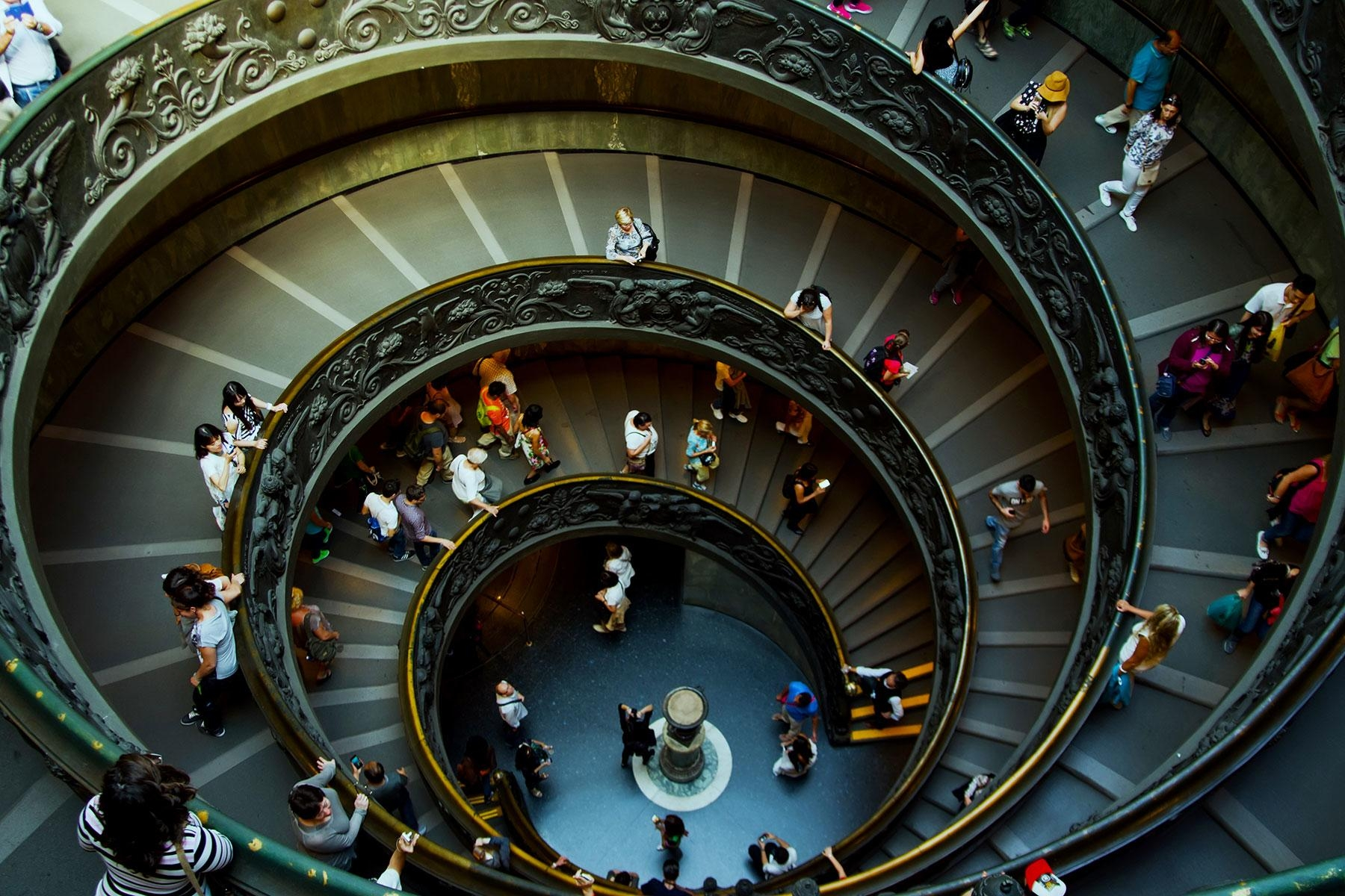 The 20 Most Incredible Staircases In The World – Fodors Travel Guide | Self Supporting Spiral Staircase | Stairway | Concrete | Supporting Structure | Santa Fe | London Uk