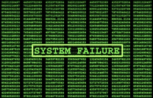System Failure Wallpaper Computer