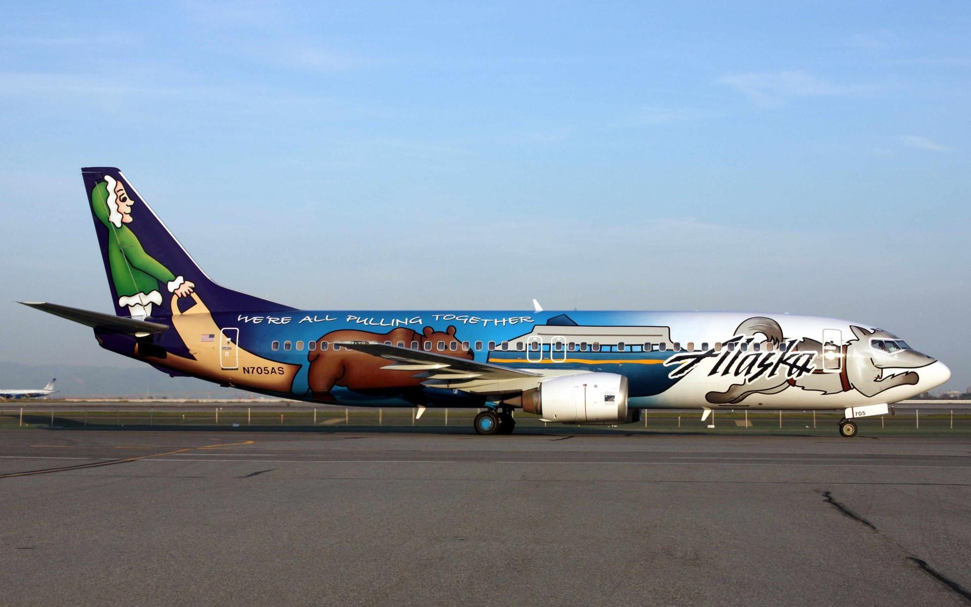 Alaska Airplane 1024x768
