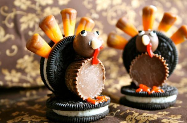 Black And White Field Turkeys