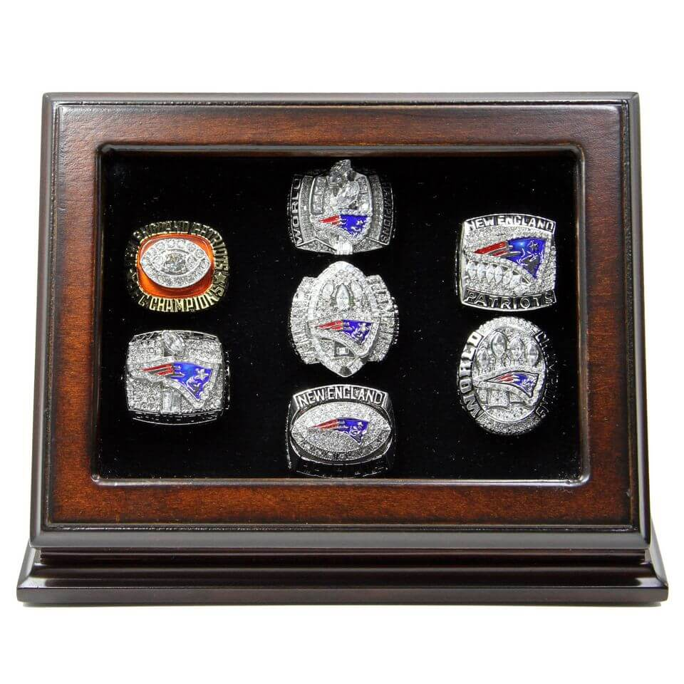 England Rings Patriots New Championship