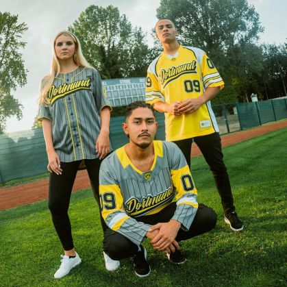 Borussia Dortmund presents jerseys impressed by sports activities from the USA.