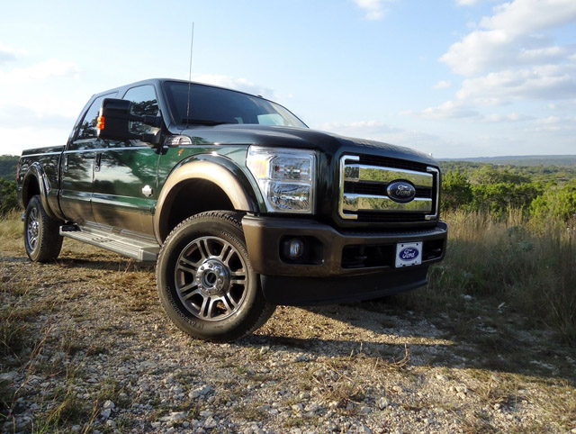 Review 2015 Ford Super Duty F 350 King Ranch 4x4 Ford