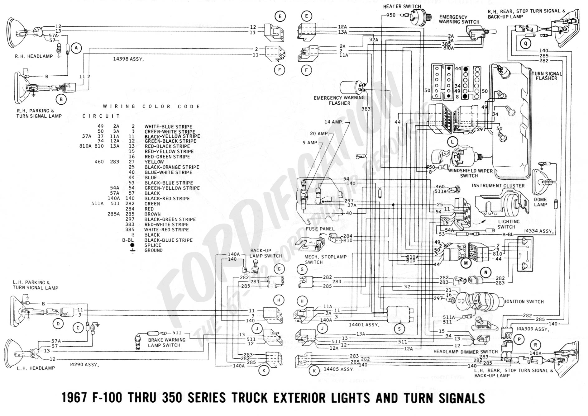 1966 Lincoln Continental Air Conditioning Wiring