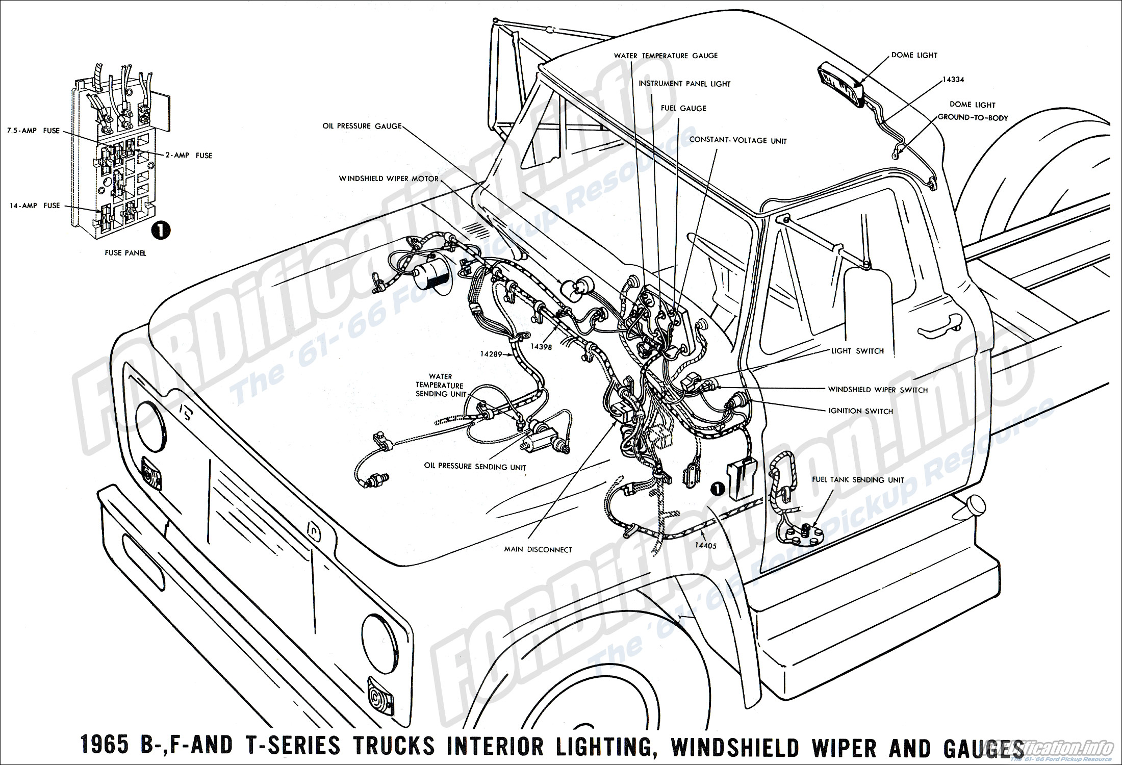1965 ford truck wiring diagrams fordification info the 61 66 rh fordification info 79 ford truck