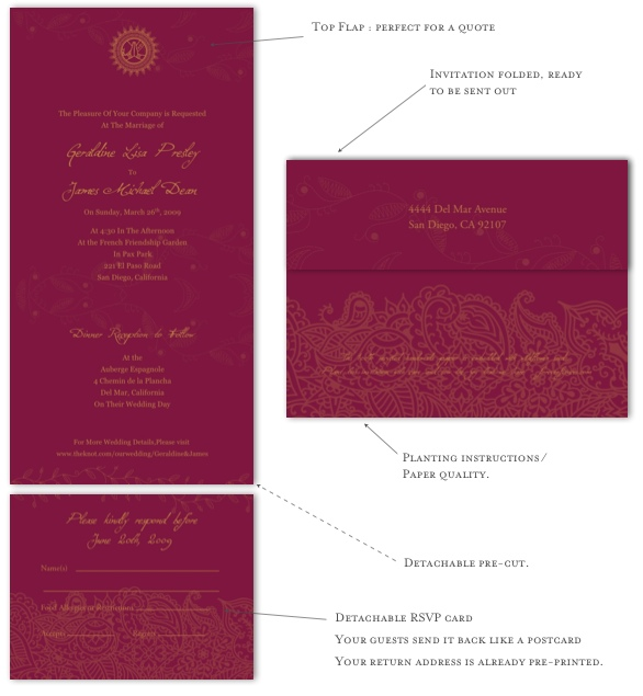 Seal And Send Wedding Invitations