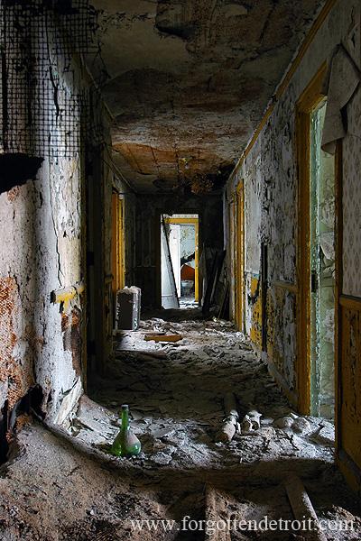 Abandoned Stadium Detroit