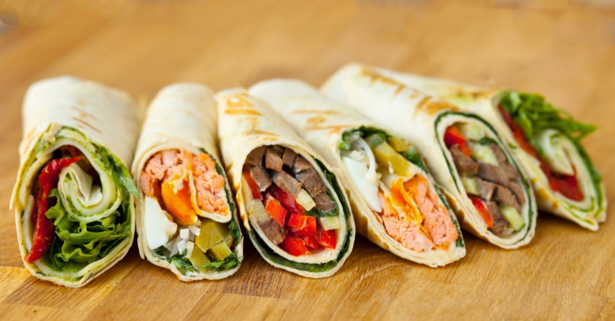Food Food Fast Healthy Lunch