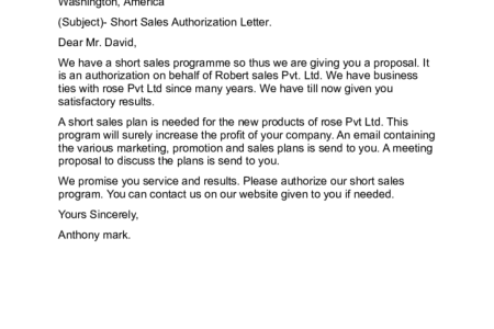 Free Invoice Template » authorization letter sample to process ...