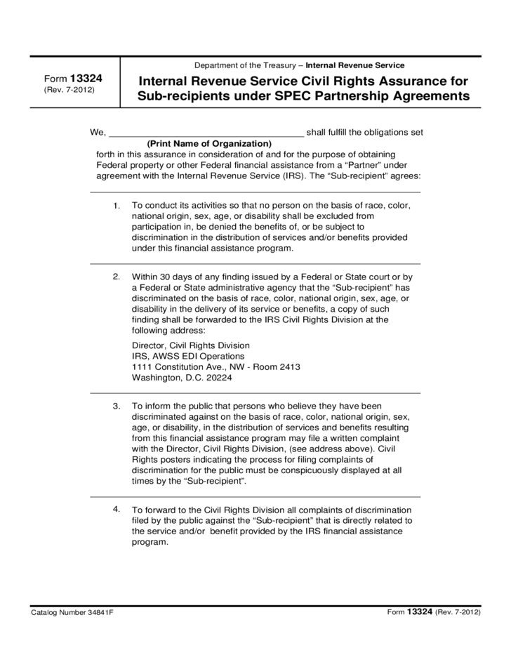 Agreement Form Life Rights