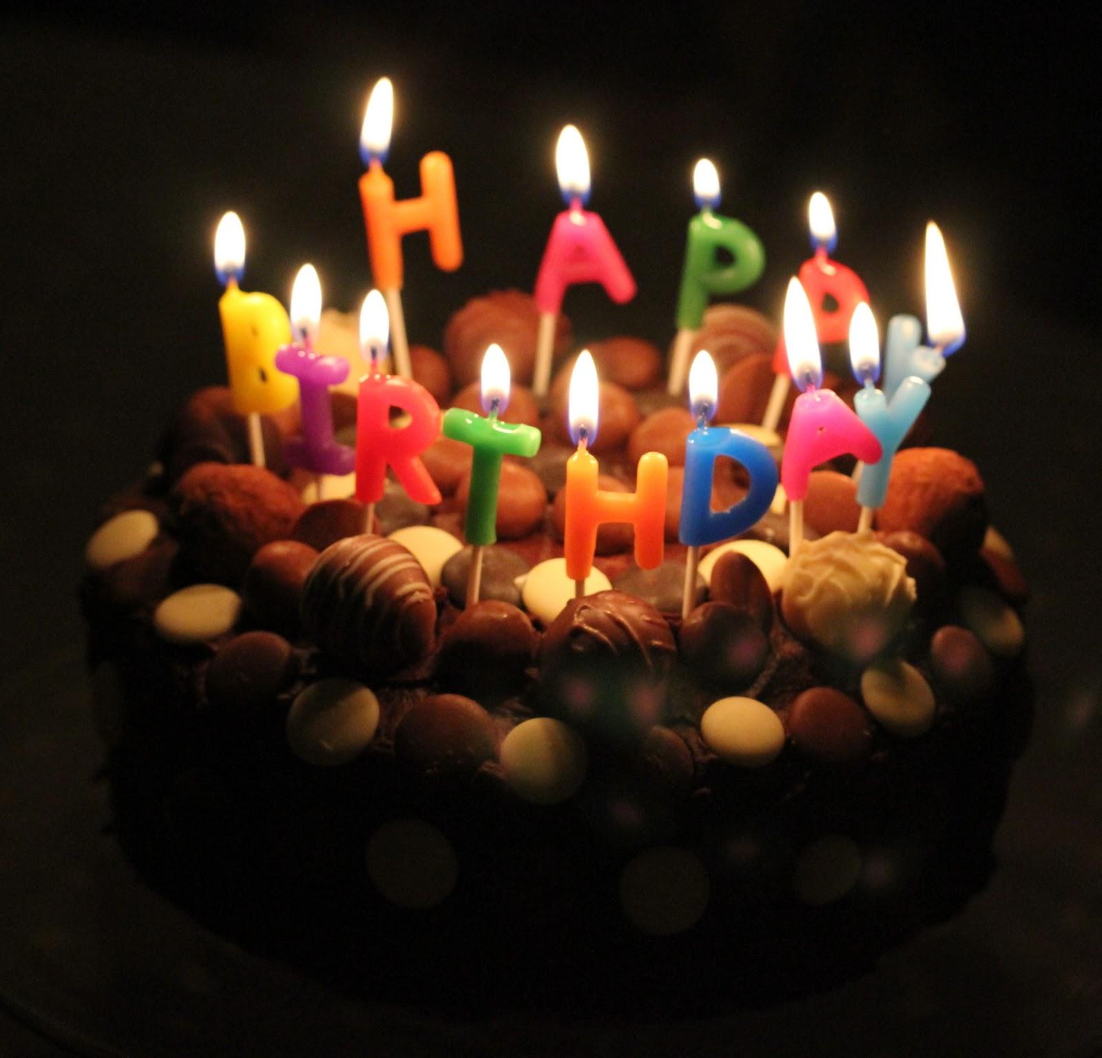 Happy Happy Birthday Cake