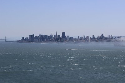 Angel Island View of SF - FoundSF