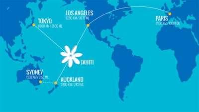Bora Bora Map & Airport Directions | Four Seasons Bora Bora