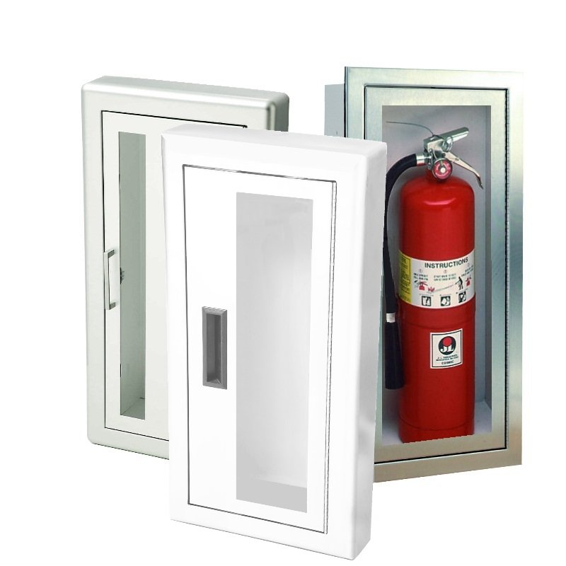 J & L Fire Extinguisher Cabinets | Fox Valley Fire & Safety
