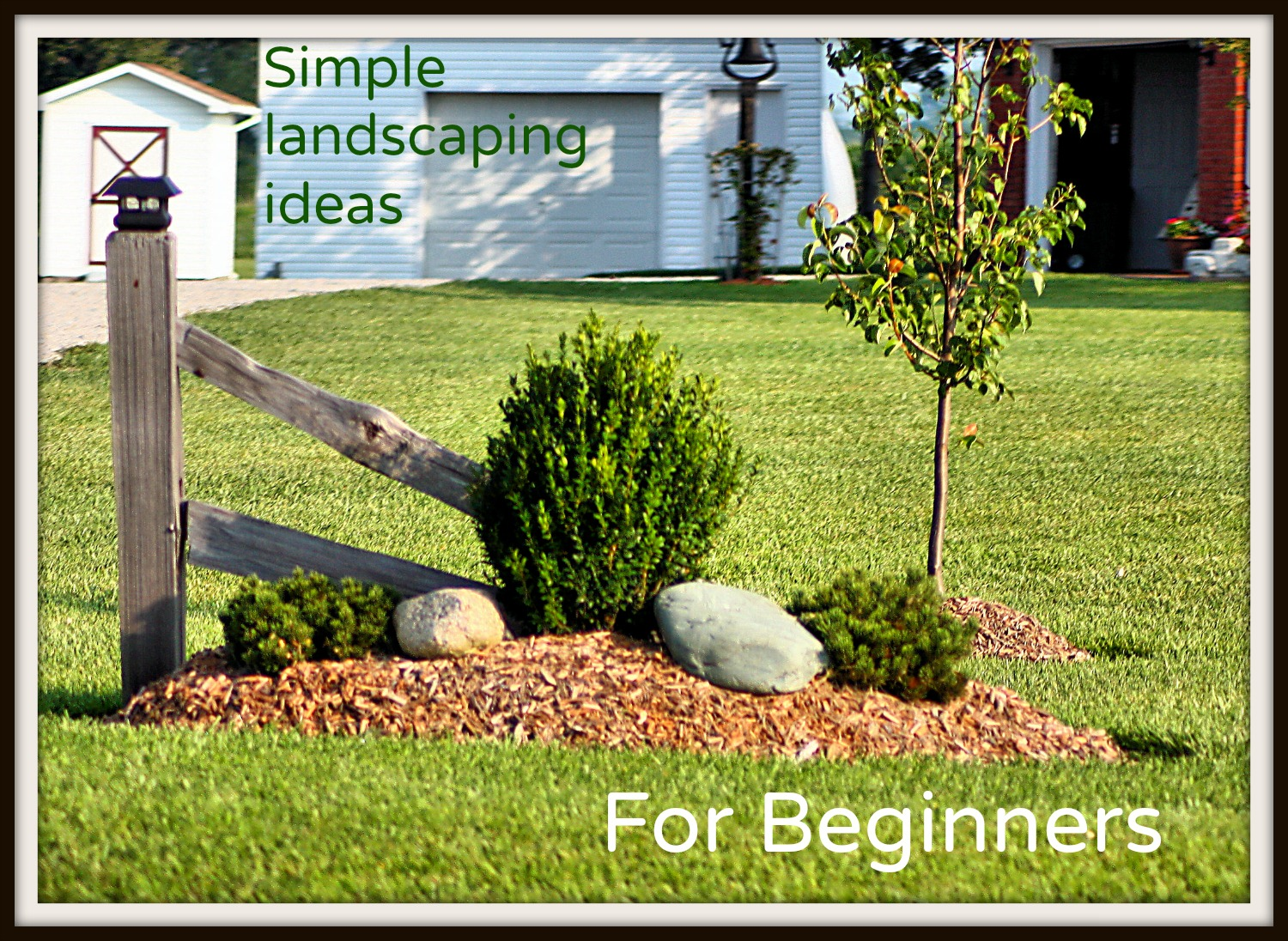 Simple Garden Landscape Ideas