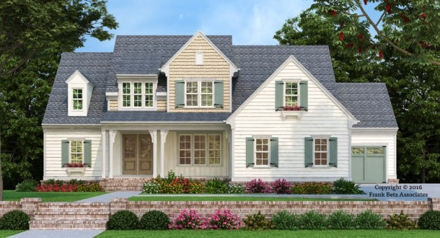 southern living house plans   Frank Betz Associates STATESBORO Southern Living House Plans