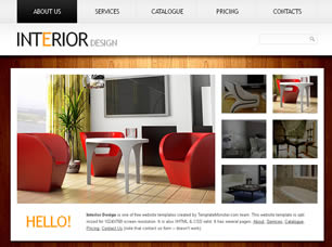 Interior Design Free Website Template   Free CSS Templates   Free CSS Interior Design Free CSS Template