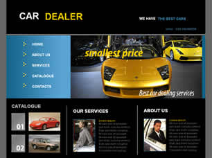 Car Dealer Free Website Template Free Css Templates