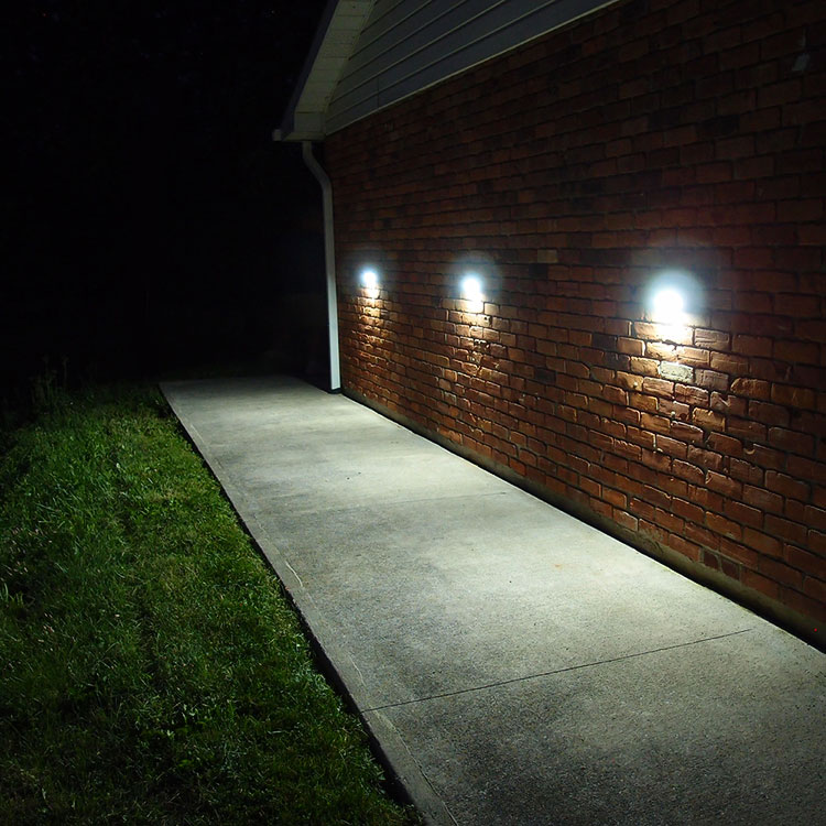 Vista Solar Lights For Stair Entrance Walkways Car Parks