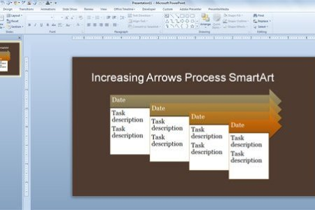 office smartart timeline   Gotta yotti co office smartart timeline  simple process timeline template