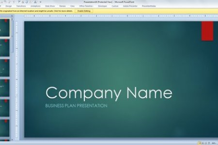 Financial template for business plan free business plan the free business plan presentation template powerpoint is packed with interesting resources for avid designers familiar with different microsoft and adobe wajeb Images