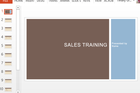 Employee Training PowerPoint Template Business Sales Training Template For PowerPoint