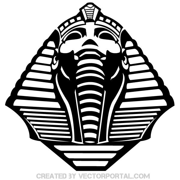 Pharaoh Head Background
