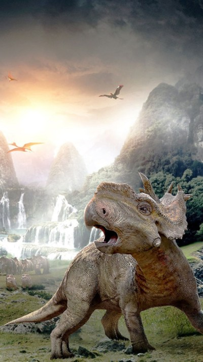 Walking with Dinosaurs 3D 2013 Wallpaper - Free iPhone ...