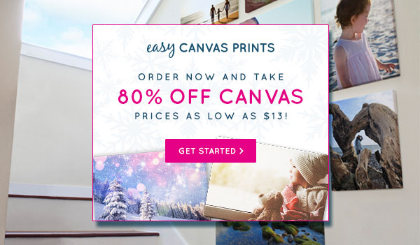 Easy Canvas Prints - 85% OFF - Sale (US Only)