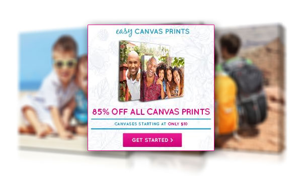 Easy Canvas Prints Coupon Code - 85% OFF (US)