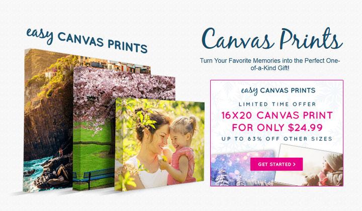 Buy Canvas Prints: Easy Canvas Prints 16x20 84% OFF
