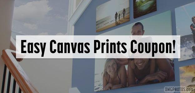 easy canvas prints promo code