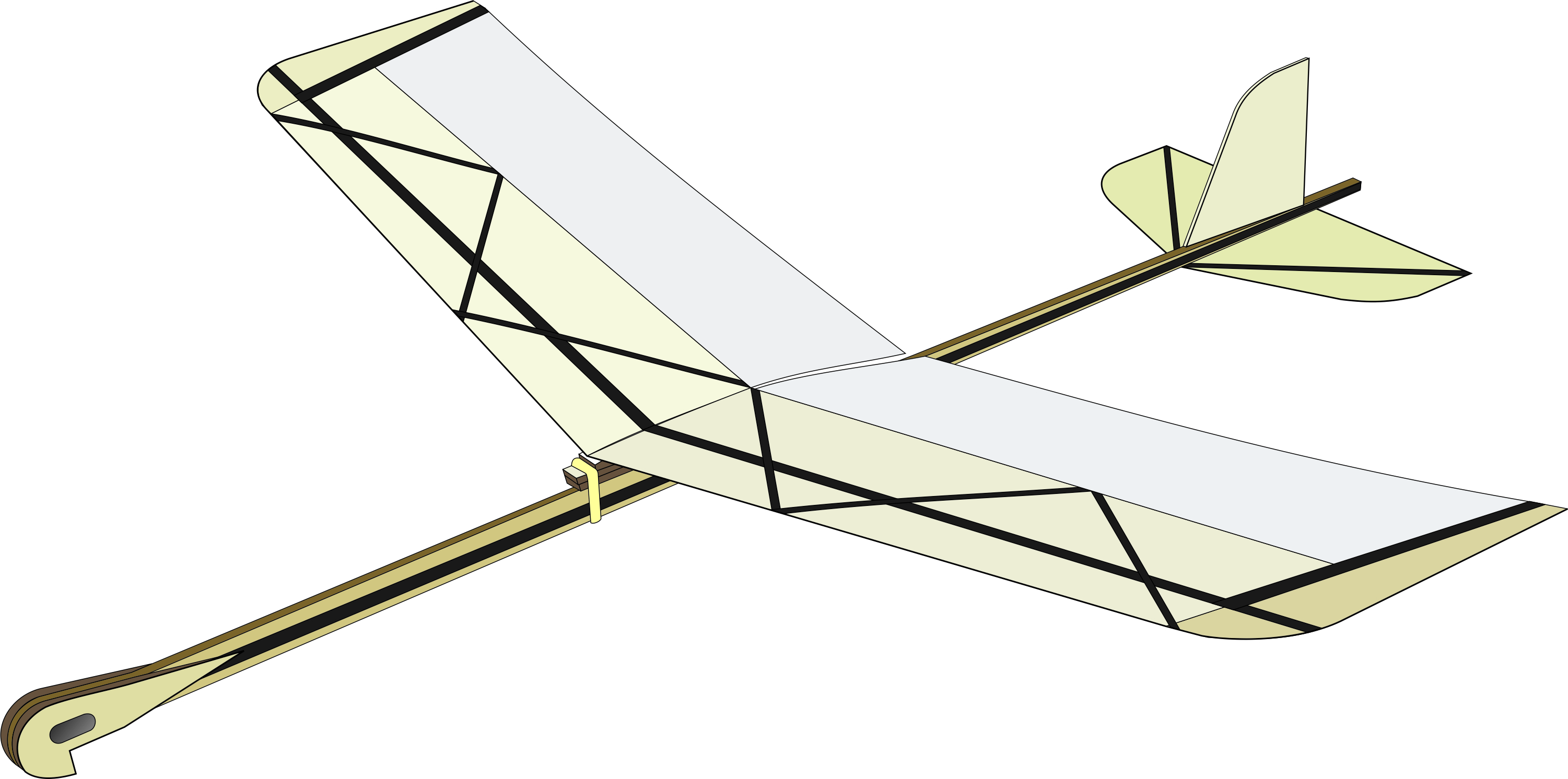 Glider Launched Elastic