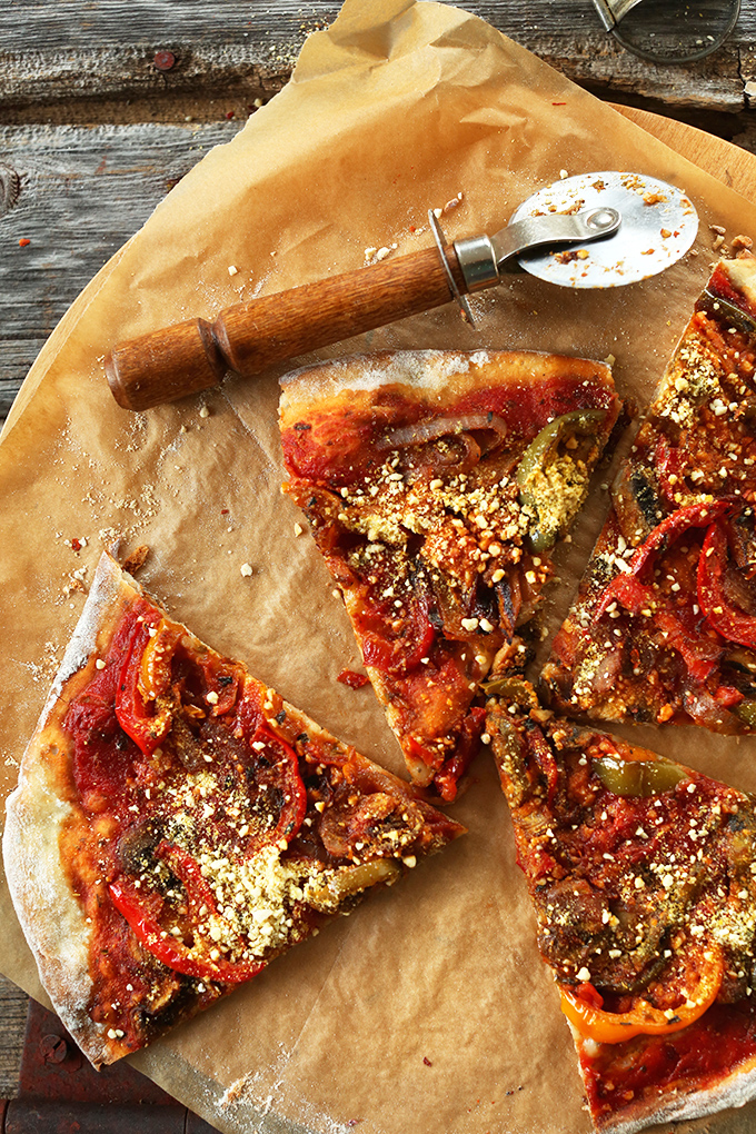 Crust Recipe Pourable Pizza