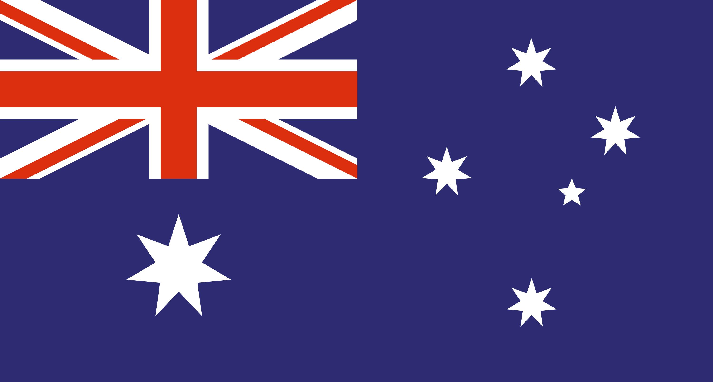 Kangaroo Country Flag Stars And
