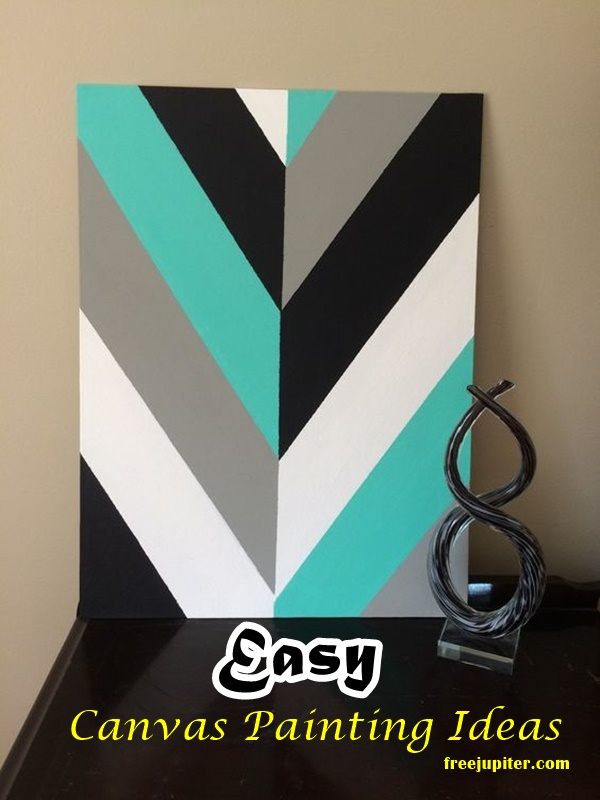 40 Easy Canvas Painting Ideas For Art Lovers