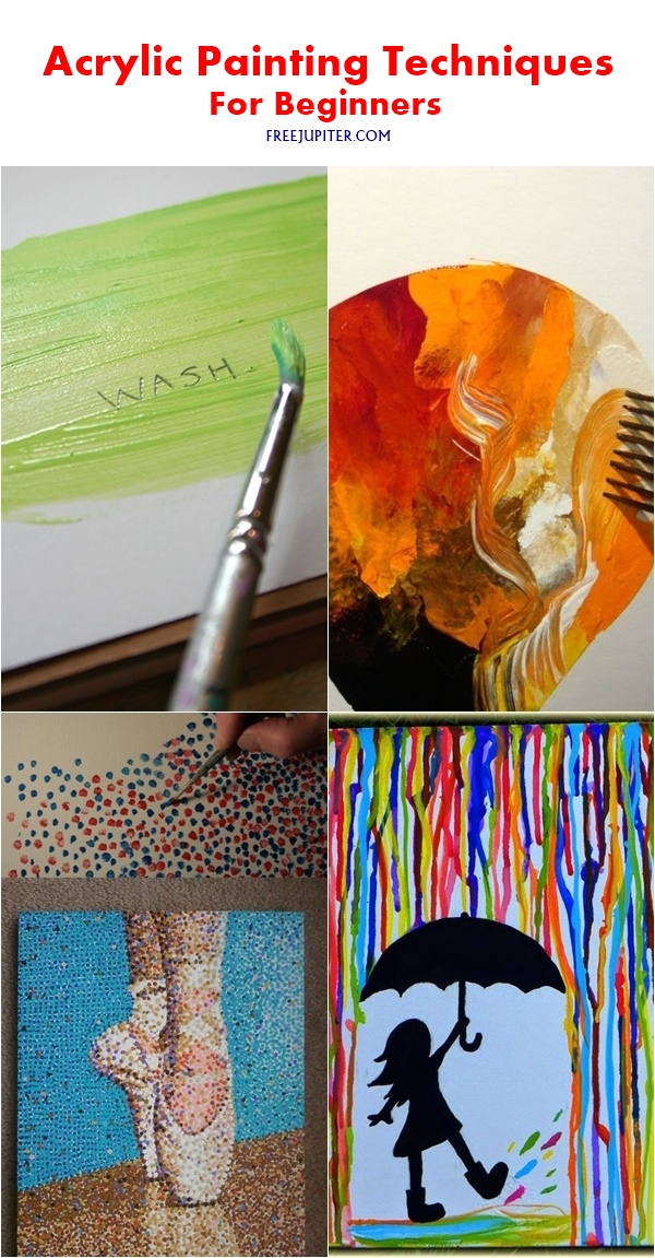 Different Acrylic Painting Techniques