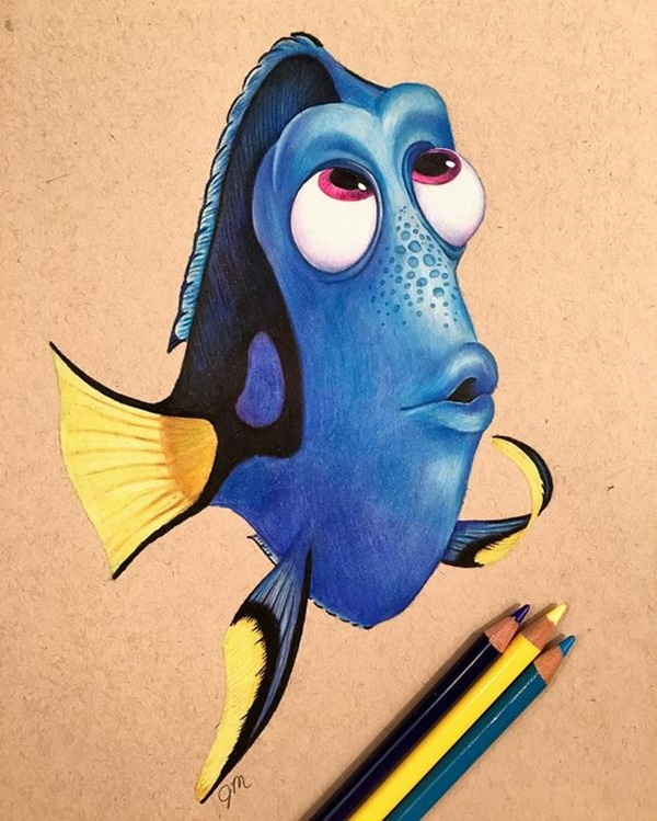 Colored Pencil Drawings Easy