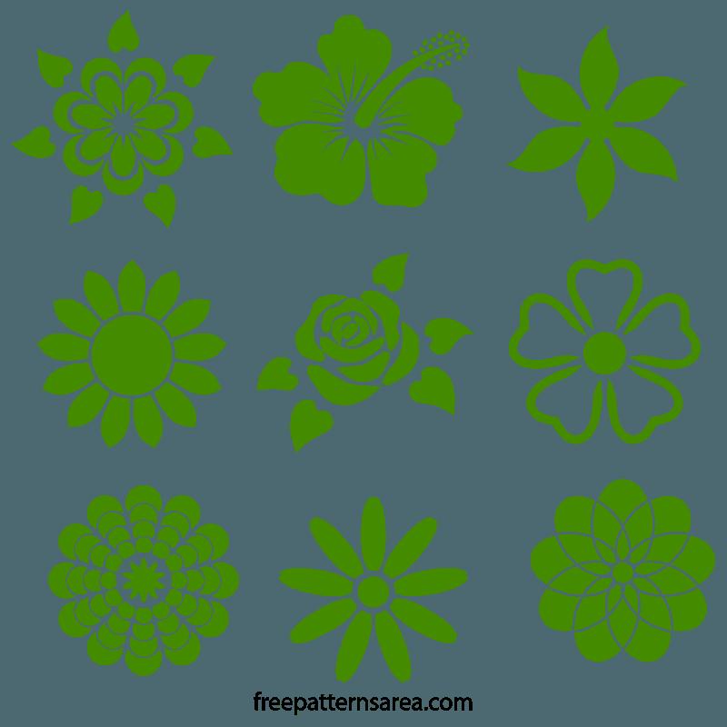 Flowers Stencils