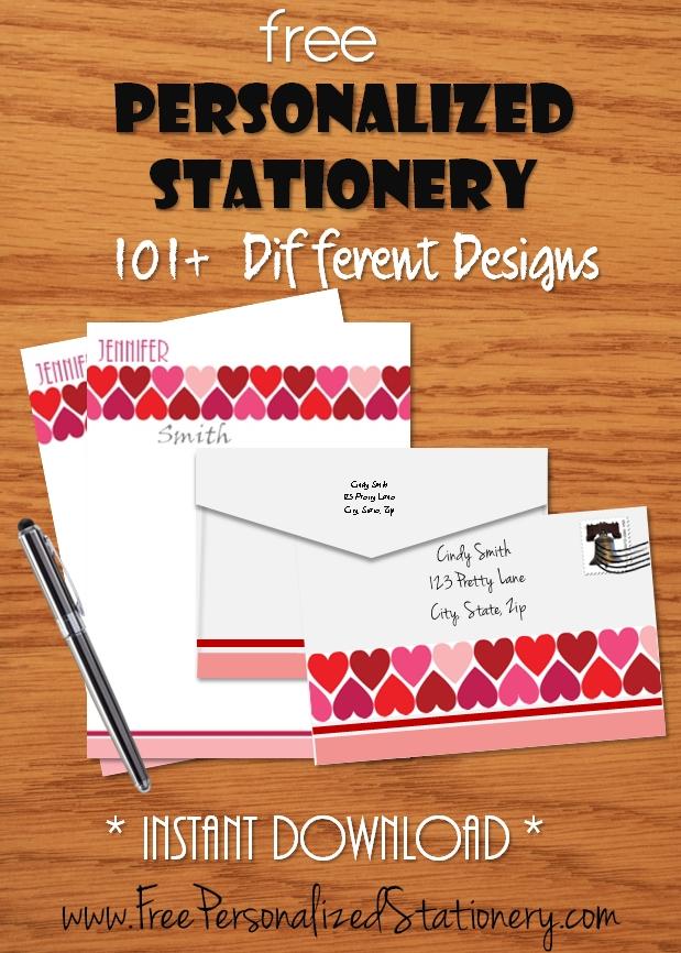 Valentine Stationery