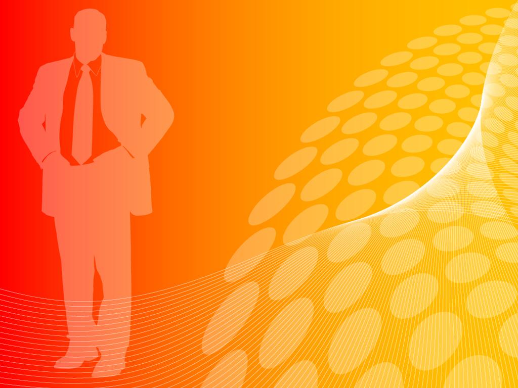 Business Orange Backround