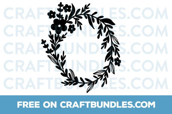wreath template free svg # 71
