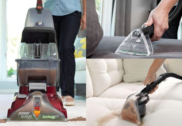 190 Hoover Power Scrub Carpet Cleaner for JUST  94 99   FREE Shipping