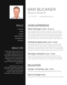 images for resume templates