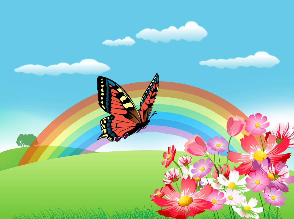 Pretty Nature Backgrounds Spring